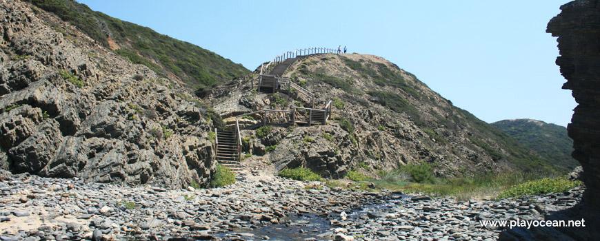 Escadaria, Praia da Barradinha