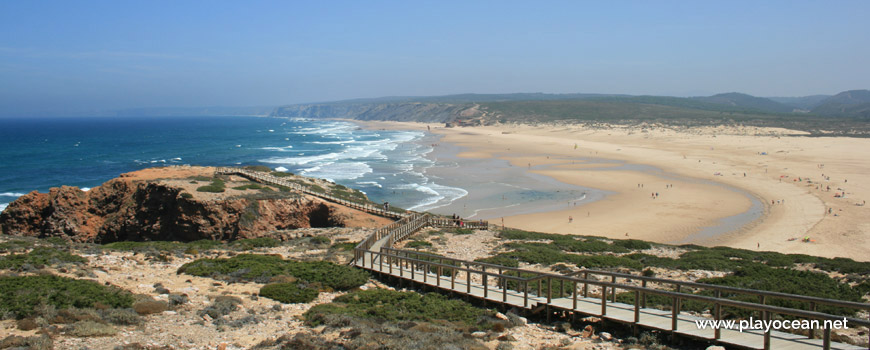 Access to Praia da Bordeira Beach