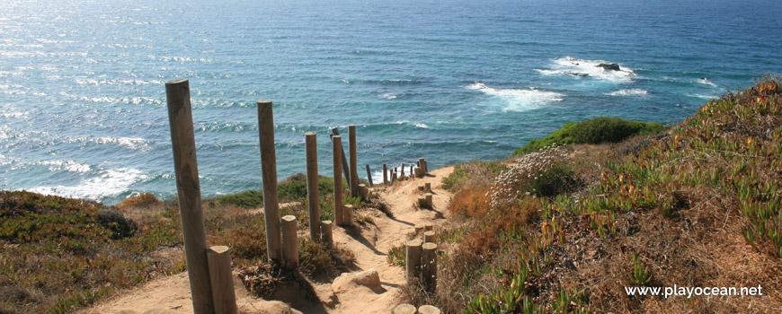 Trilho da Praia da Carreagem