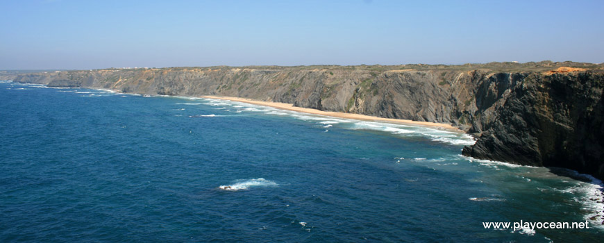 Panoramic, Praia do Medo da Fonte Santa Beach