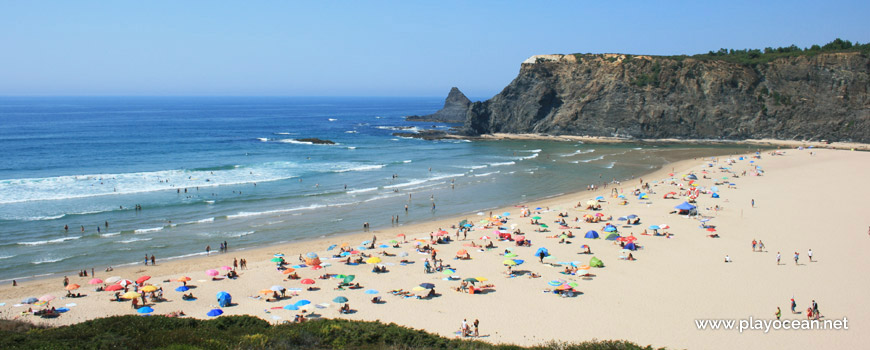 Super Praia de Odeceixe (Mar) em Odeceixe, Aljezur • Portugal DV79