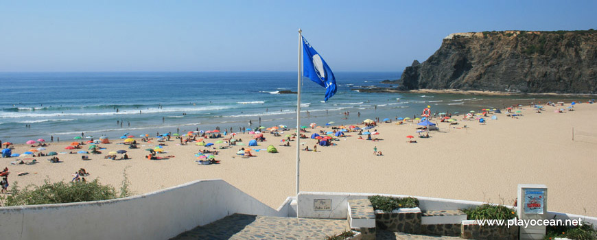 Banner at Praia de Odeceixe (Sea) Beach