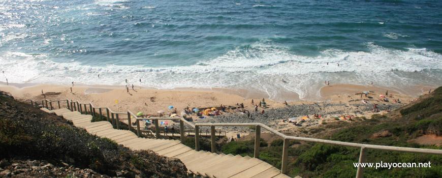 Access to Praia do Vale dos Homens Beach