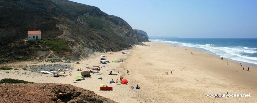 Sul na Praia de Vale Figueiras