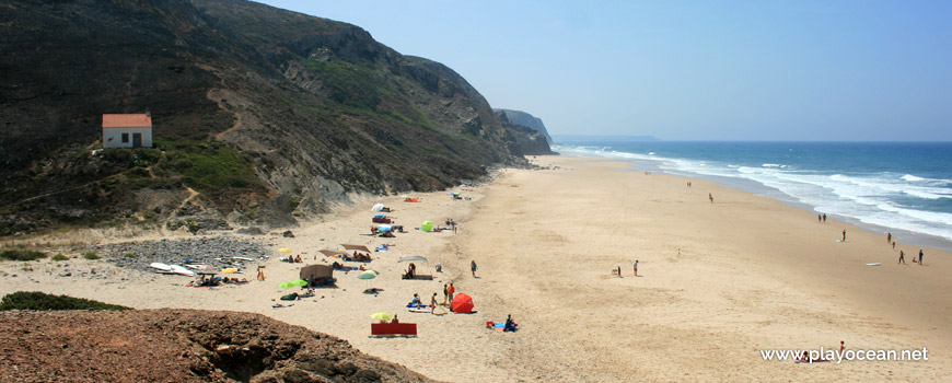 South atPraia de Vale Figueiras Beach
