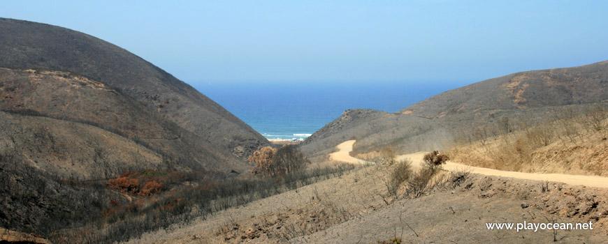 Access to Praia de Vale Figueiras Beach