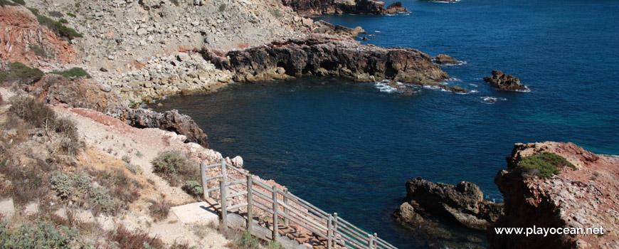 Enseada, Praia da Zimbreirinha
