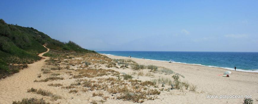 Sul da Praia da Adiça