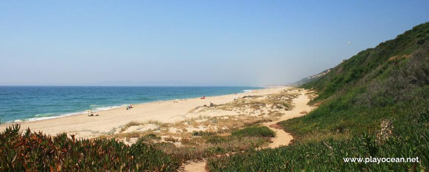 Norte da Praia da Adiça