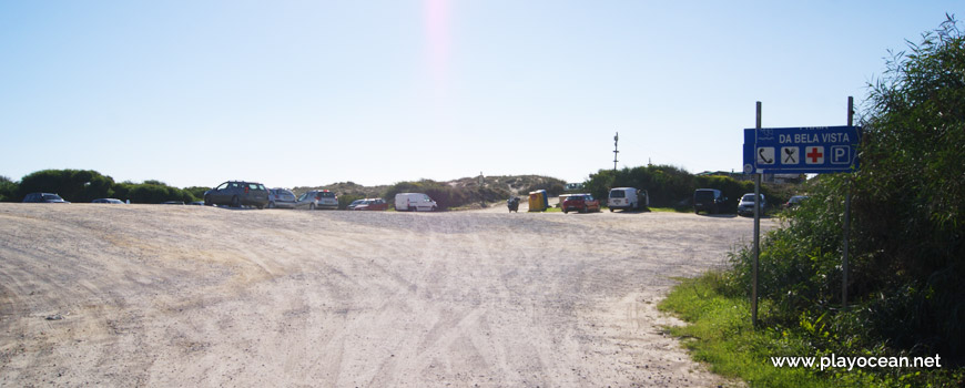 Parking lot, Praia da Bela Vista Beach