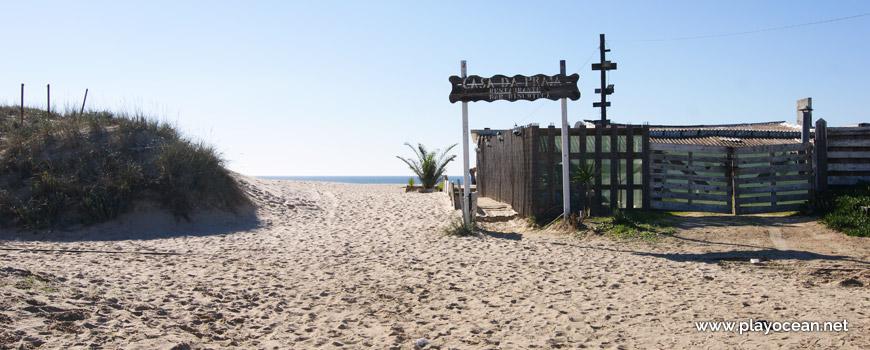 Entrada, Praia da Bela Vista