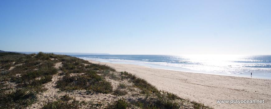 South of Praia da Bela Vista Beach