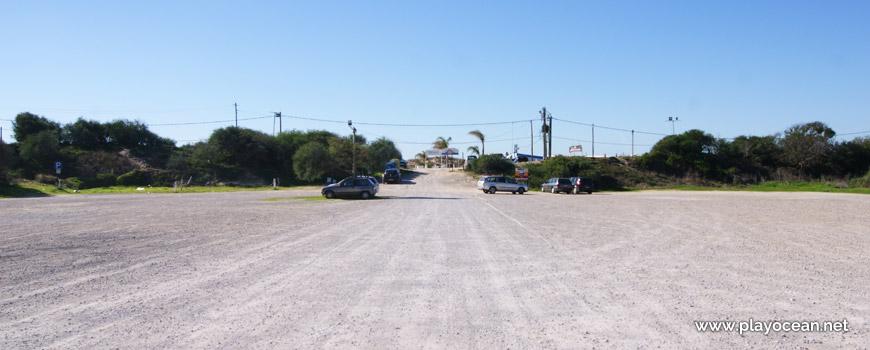 Estacionamento, Praia da Cabana do Pescador