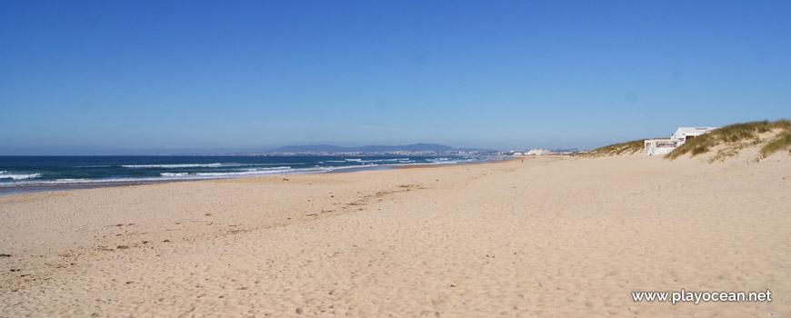 Norte da Praia da Cabana do Pescador