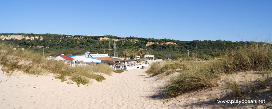 Este da Praia da Cabana do Pescador