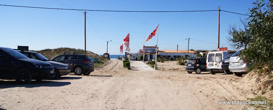 Entrada, Praia do Castelo