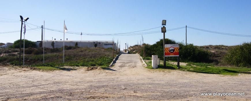 Entrada, Praia do Infante