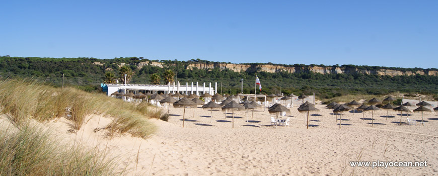 Chapéus de palha, Praia da Morena