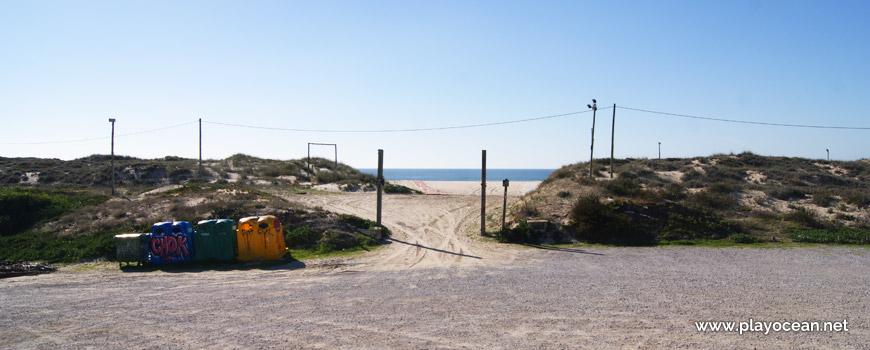 Entrada, Praia da Nova Vaga