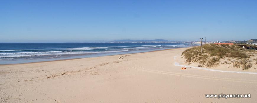 Norte da Praia da Nova Vaga