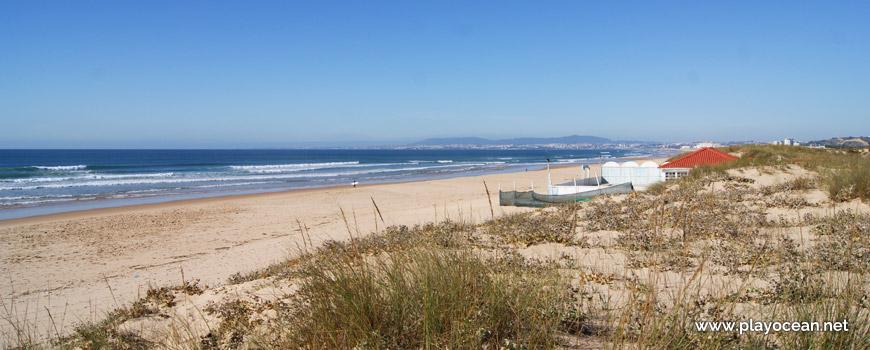Norte da Praia da Princesa
