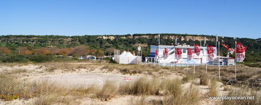 Heliporto, Praia da Rainha