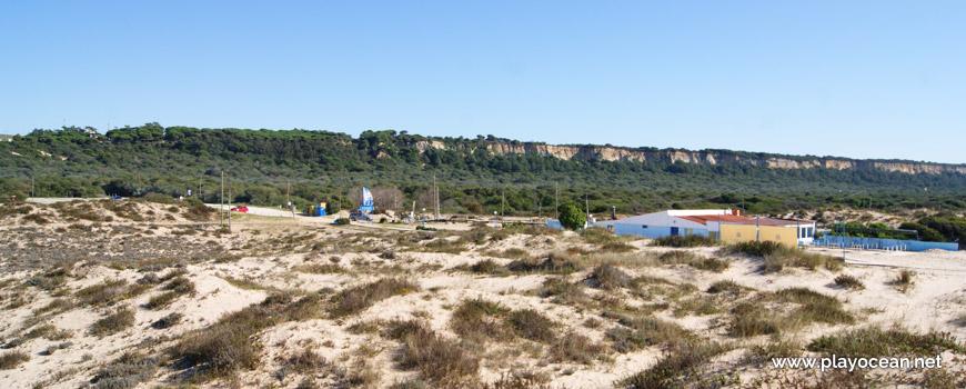 Arriba Fóssil, Praia do Rei