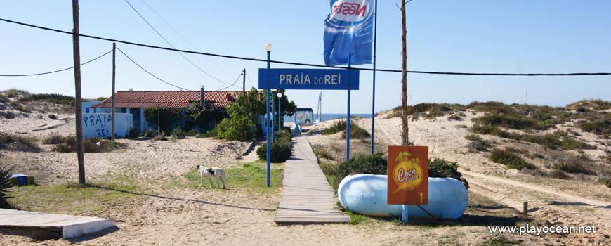 Entrada, Praia do Rei
