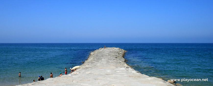 Pontão da praia de São João da Caparica
