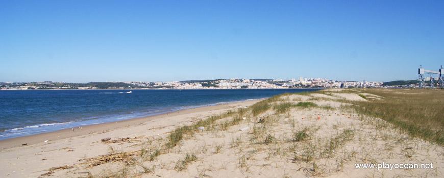 Norte da Praia do Segundo Torrão