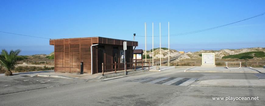 Entrance of Praia de São Jacinto Beach
