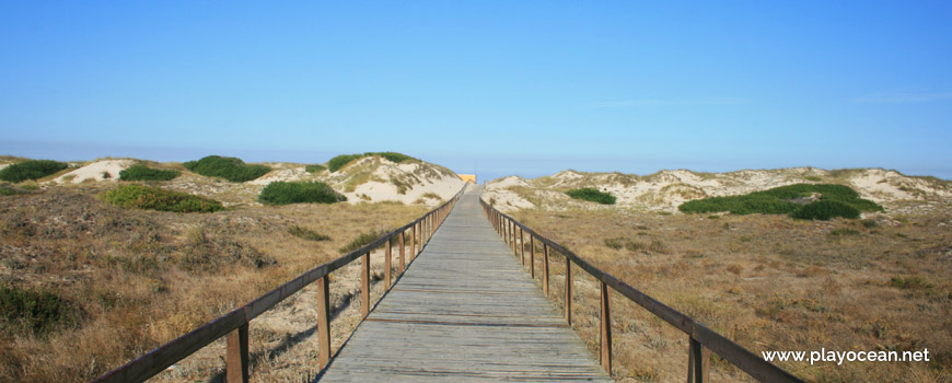 Access to Praia de São Jacinto Beach
