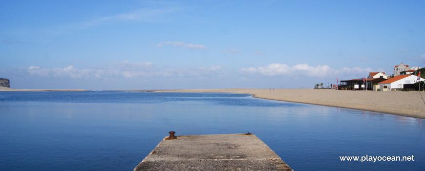 Cais, Lagoa de Óbidos