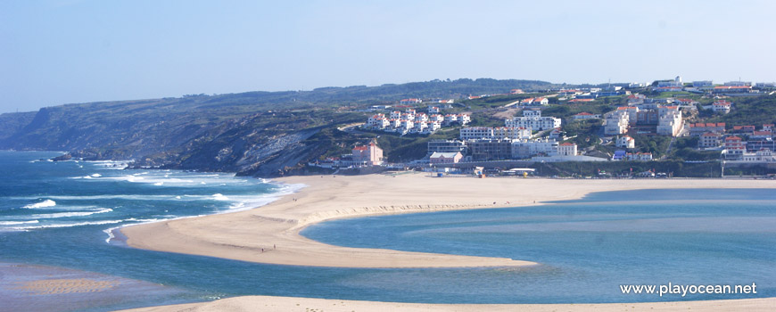 Panoramic of Praia do Mar Beach