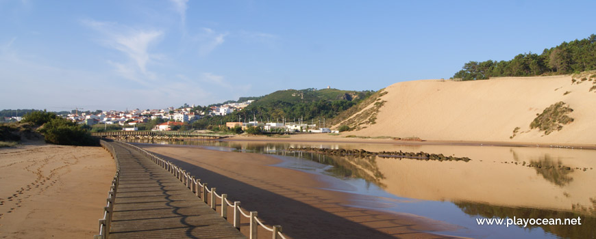 View to Salir do Porto and the dune