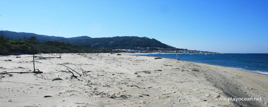 Sand of Praia do Camarido Beach