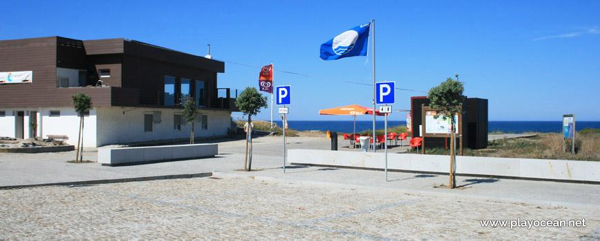Praia do Forte do Cão, entrada