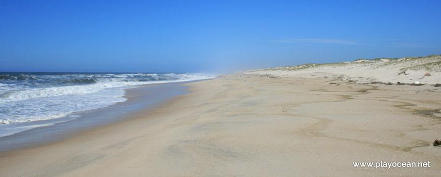 Norte da Praia dos Almadoiros