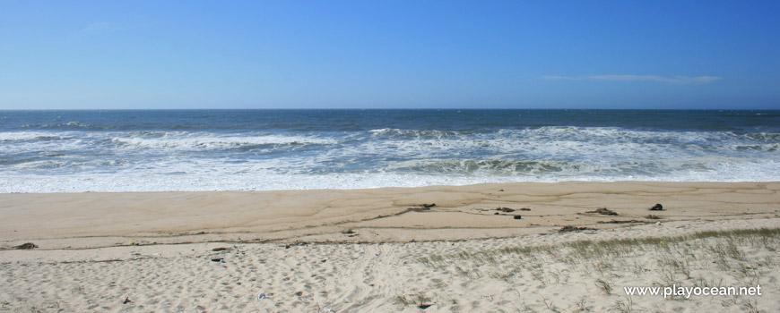 Mar na Praia dos Almadoiros