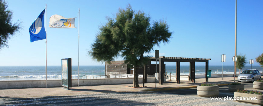 Estandartes na Praia da Tocha
