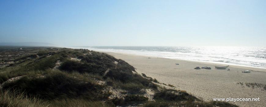 Sul da Praia da Tocha