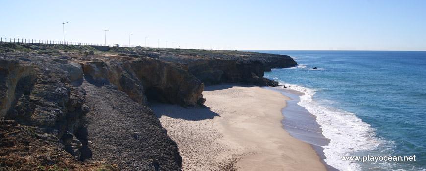 Sul da Praia da Arriba