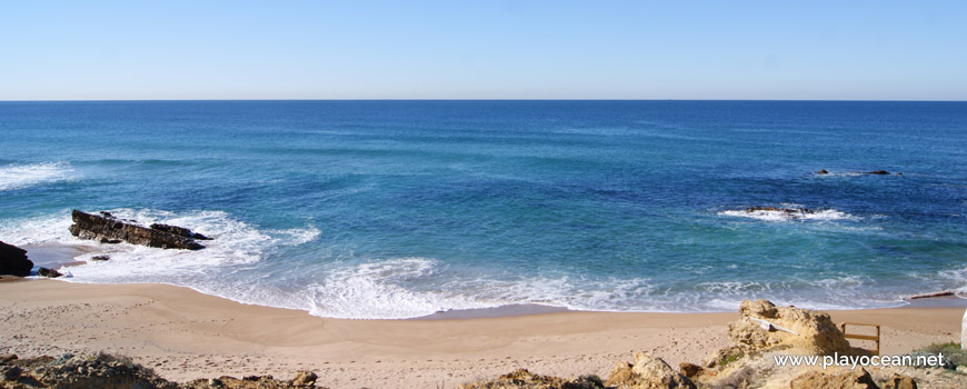 Mar na Praia da Arriba