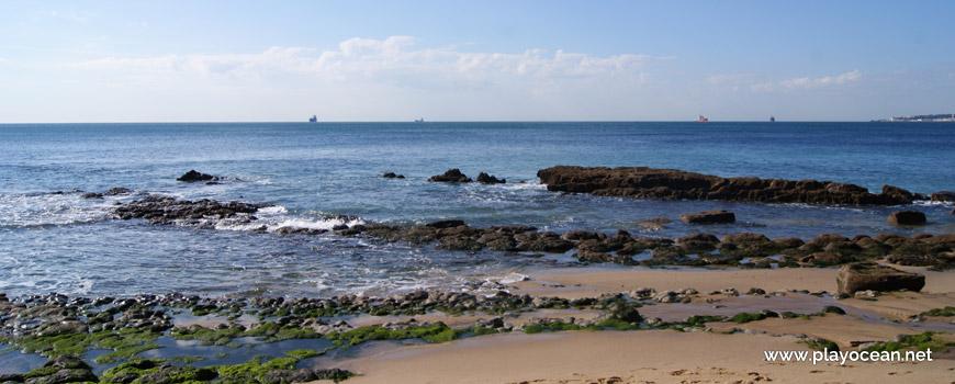 Mar na Praia da Bafureira