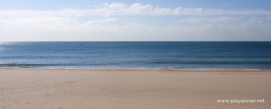 Mar na Praia de Carcavelos