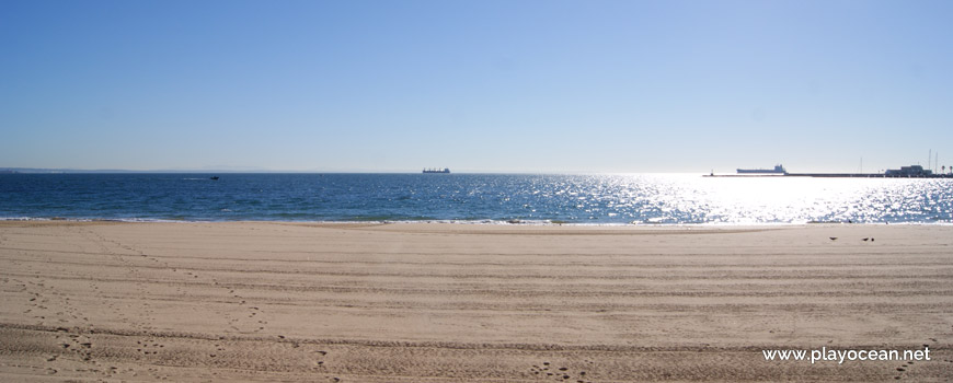 Mar na Praia da Conceição