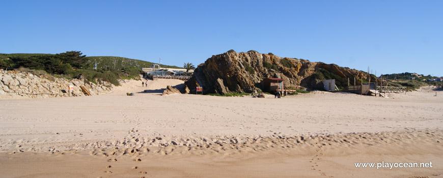 Rochedo junto à concessão, Praia Grande do Guincho