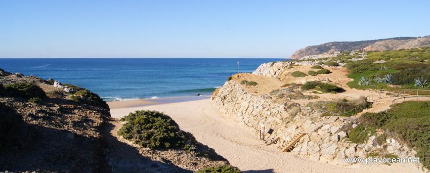 Recanto na Praia Grande do Guincho