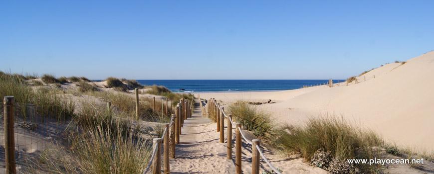 Passadiço na Praia Grande do Guincho