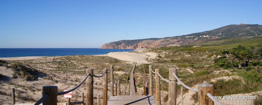 Acesso à Praia Grande do Guincho